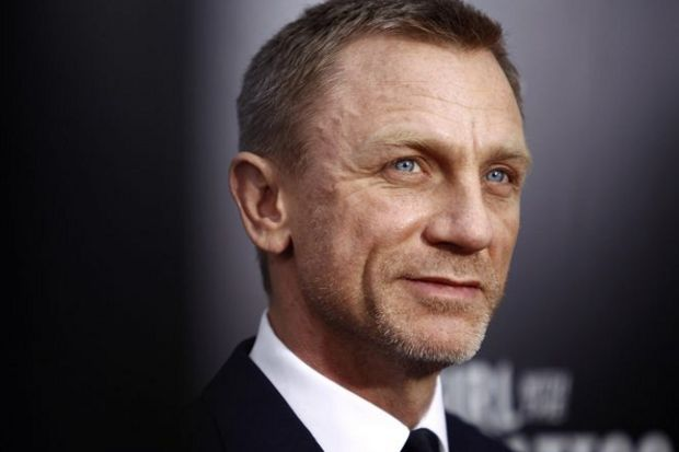 İngilizlerin gururu Daniel Craig