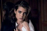 Grace Kelly'nin torunu Charlotte Casiraghi güzelliği ile büyülüyor...
