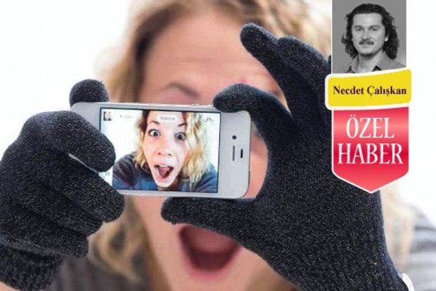 Buz gibi hava için dijital eldivenler