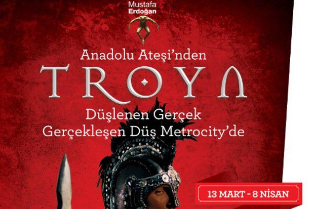 Bir Anadolu Efsanesi olan Troya yeniden izleyicileri ile buluşuyor...