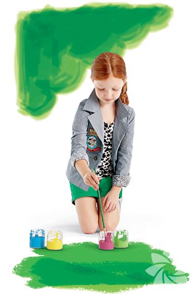 <p>Diane von Furstenberg - Gap çocuk tasarımları</p>
