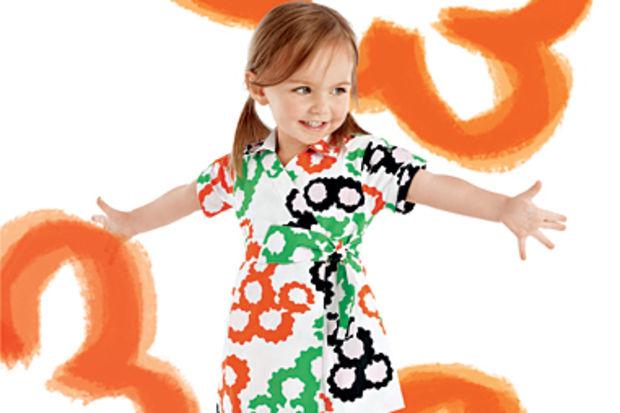 Diane von Furstenberg ve Gap işbirliği ile hazırlanan çocuk kıyafetleri