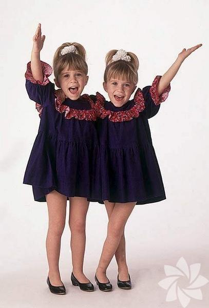 <p>Mary Kate Olsen ve Ashley Fuller Olsen kardeşler 13 Haziran 1986 yılında Amerika'da doğdu.</p>
