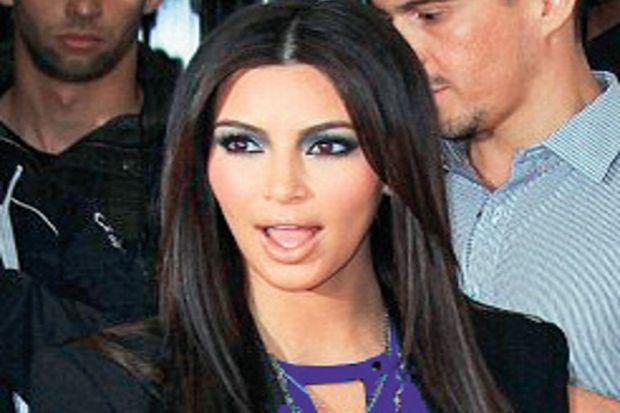 Kardashian'a  saldırı!