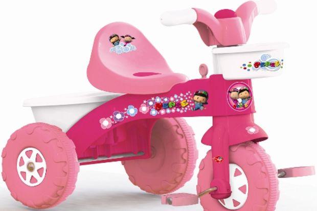 Kız çocuklarının yeni gözdesi Pepee'li pembe bisikletler