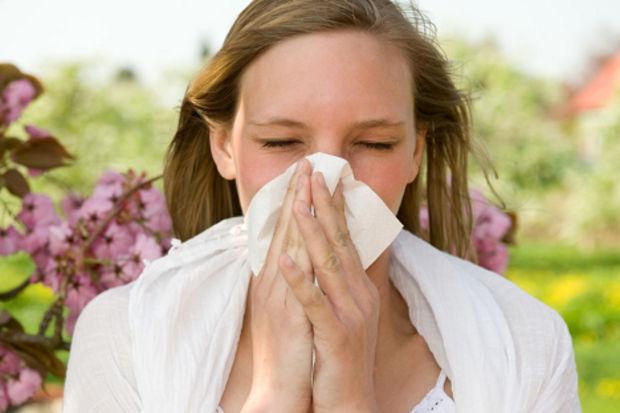 Bahar alerjisinin görülme sıklığı Türkiye'de % 10