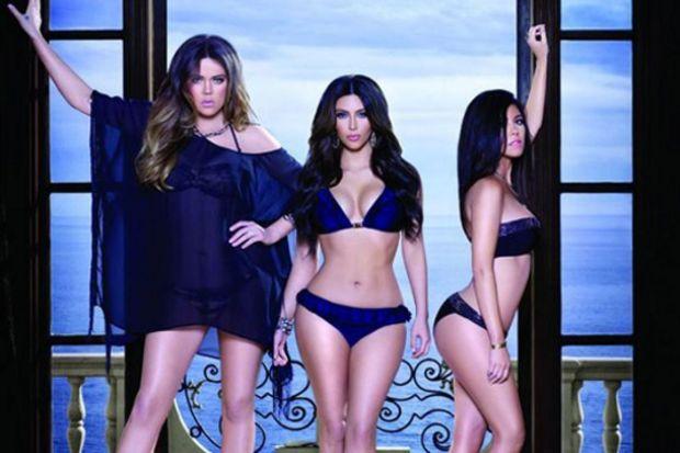 Kardashian kardeşlerden bikini ve mayo koleksiyonu