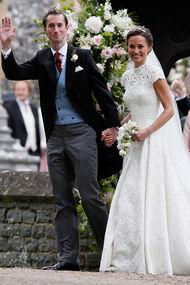 Pippa Middleton evlendi!