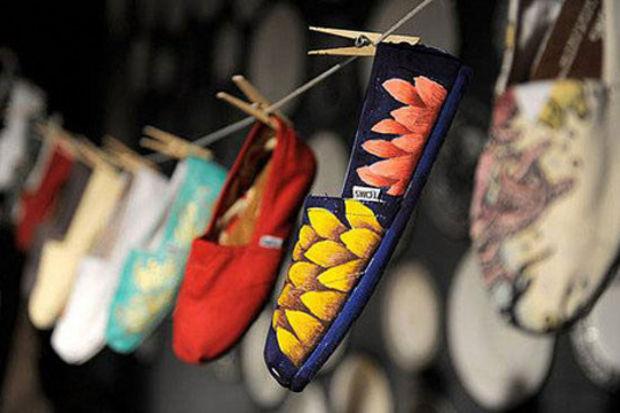 Sezonun en rahat ve anlamlı parçaları Toms ayakkabılar...