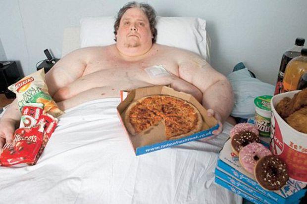 Keith Martin: Günde 20 bin kalori alıyorum