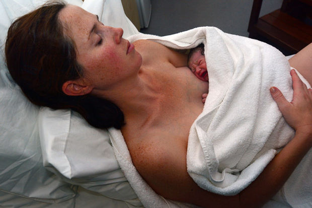 """Doğumu en doğal haliyle yaşamak isteyen anneler için """"Natürel Doğum"""""""