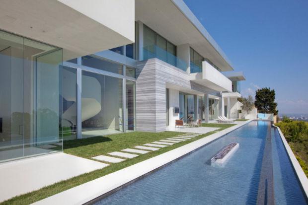 Modernizmin doruklarında bir ev Prime Bel Air