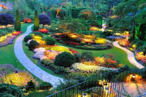 Dünyanın en ilginç bahçeleri