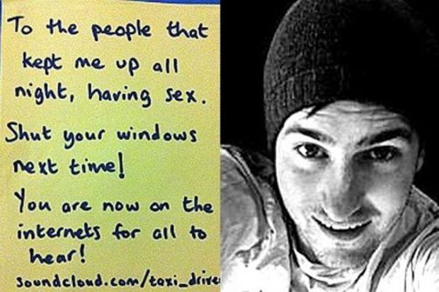 Gürültülü seksi internete koydu.