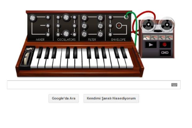 Bugün Google'da müzik yapma günü!