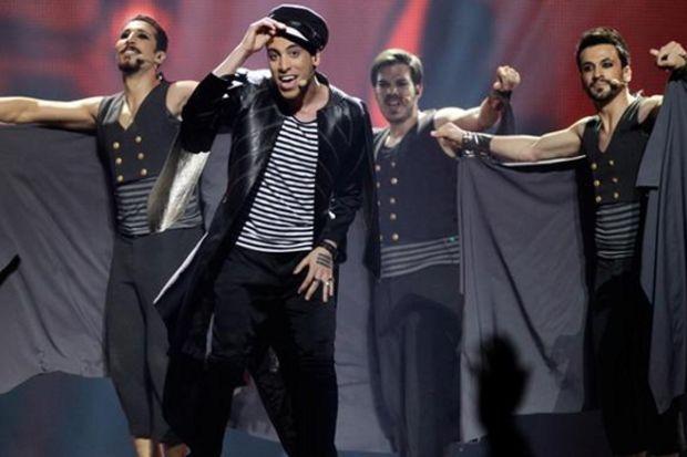 Can Bonomo Eurovision'da 'Love Me Back'le 7'nci