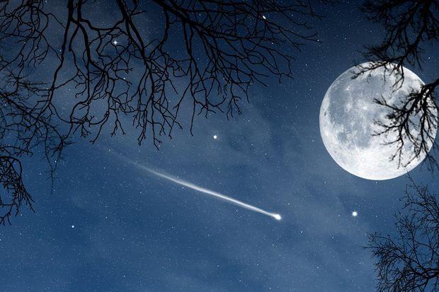 Rüyada yıldız kayması