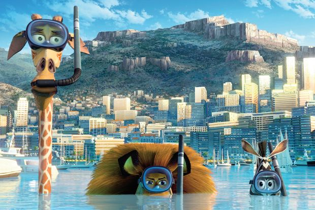 Madagaskar'a 3. boyut...
