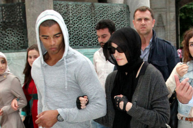 Madonna Ortaköy'de cumaya gitti !