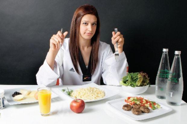 Türk sporcuların olimpiyat diyetleri!