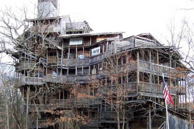 Dünyanın en büyük ağaç evi!