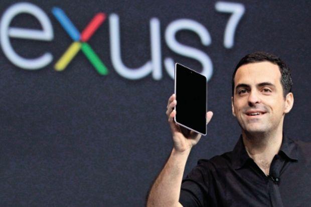 Samsung ile Google, Apple'ın iPad'ini 7 inçe indirecek