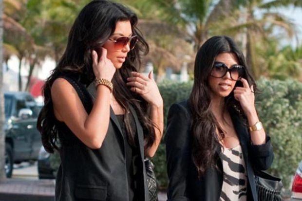 Kardashian'ın kızı oldu!