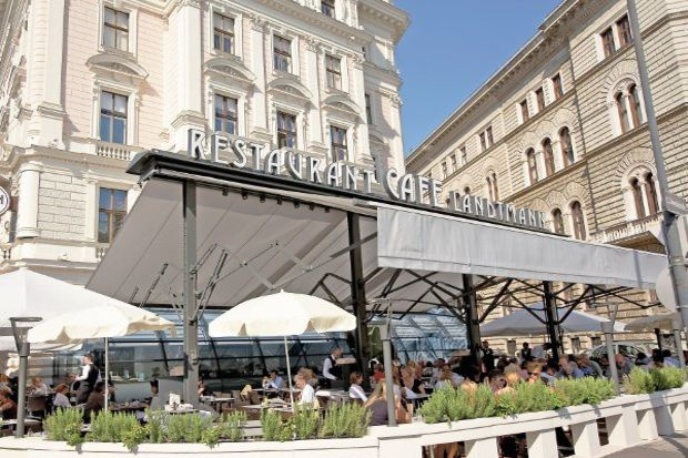 Viyana kahvehaneleri...