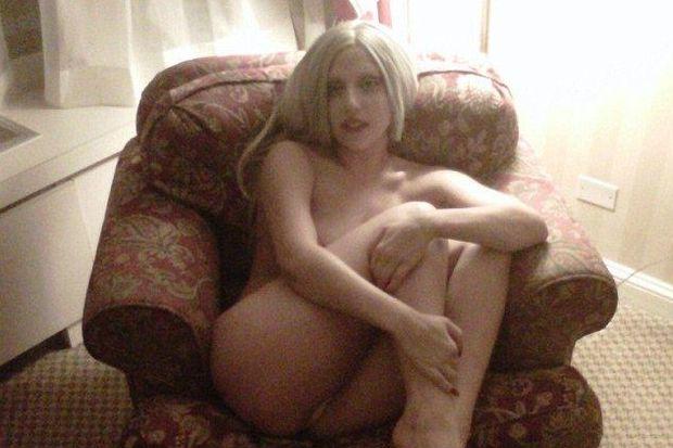 Lady Gaga'dan 'panpiş' pozu!