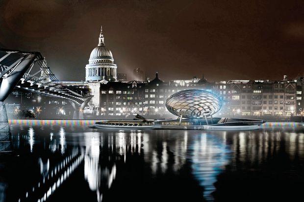 Londra doğudan yükseldi!