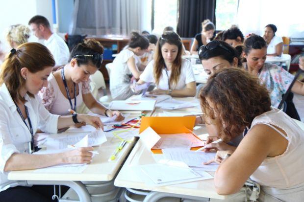 Öğretmenler mesleki bilgi ve deneyimlerini birbirleriyle paylaştı!