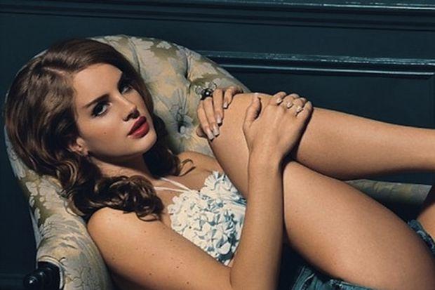 Seksi moda ikonu Lana Del Rey…