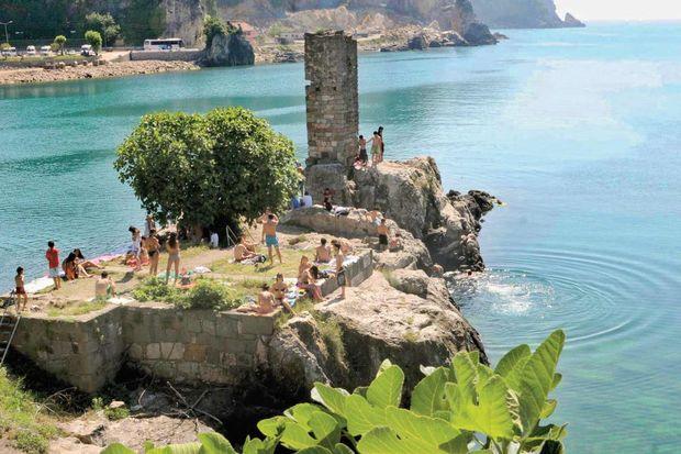 Karadeniz'in cenneti Amasra!