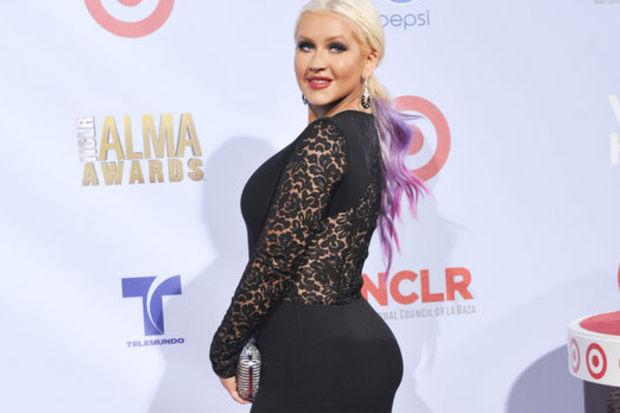 Aguilera şişmanladı!