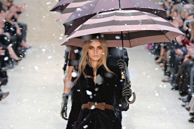Burberry 2012 Sonbahar / Kış koleksiyonu...