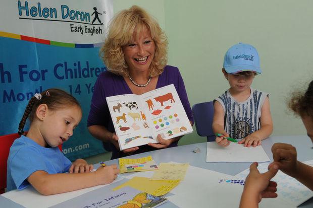 """Helen Doron: """"İngilizce bebekken öğrenilir!"""""""