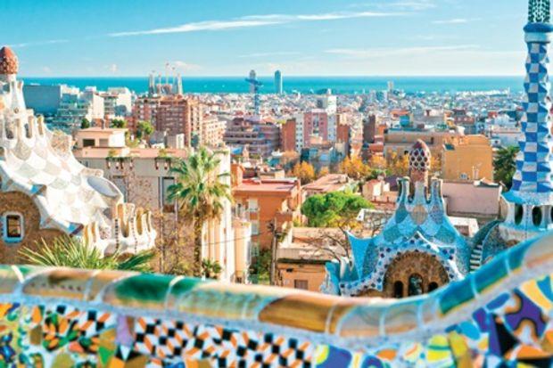 48 saatte Barcelona!