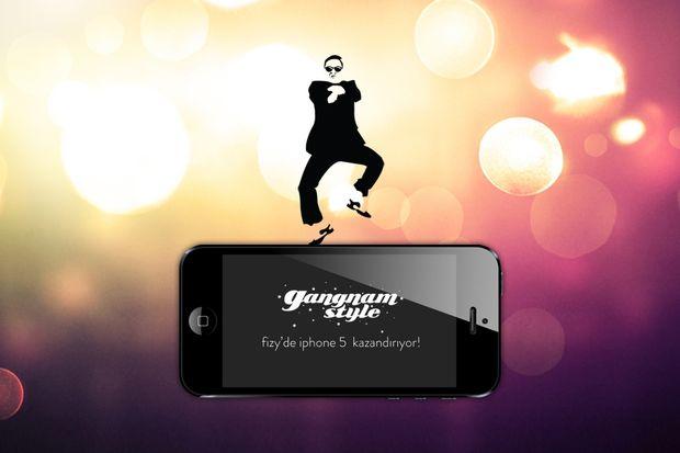 """""""Gangnam Style"""" dans edin iPhone 5 sizin olsun!"""