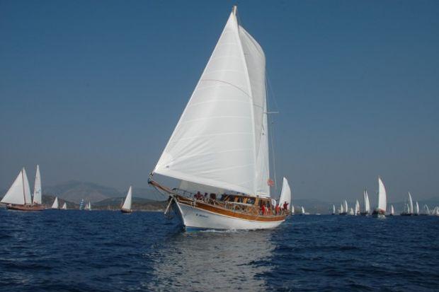 24. Bodrum Cup Yelken Yarışları'nda ahşap yatlar Dostluk temasıyla yelken açacak