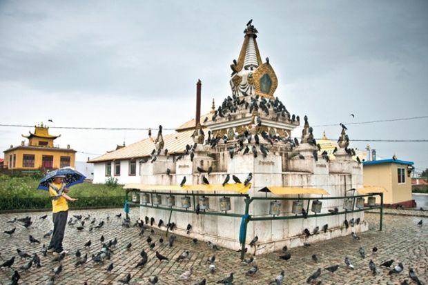 Hayat dolu şehir: Ulan Batur...