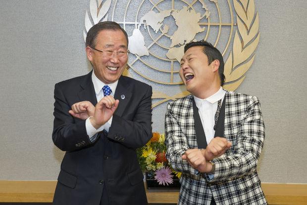 Tüm dünyada fenomen olan PSY, Güney Kore'nin Ajdar'ı mı?