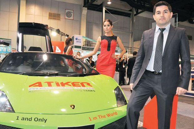 Türk işi LPG'li Lamborghini!