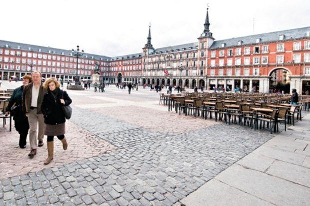 48 saatte Madrid...