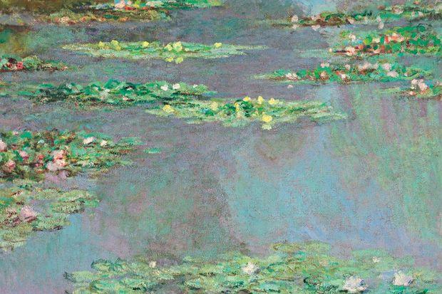 """Monet'nin """"Nilüferler""""i 43.8 milyon dolara satıldı!"""