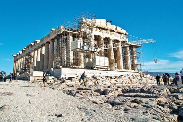Atina'da tarihe yolculuk: Akropolis...