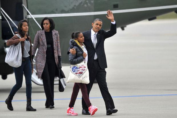 Obama'nın kızları en seçkin okulda!