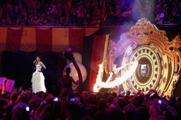 2012 MTV Avrupa Müzik Ödülleri sahiplerini buldu!