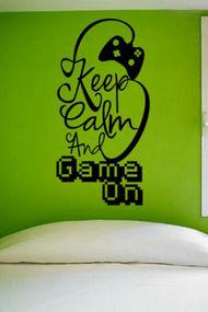 """""""Keep calm"""" dekorasyon örnekleri..."""