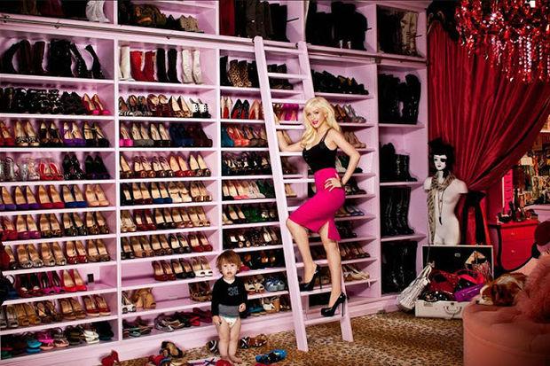 Yeni moda: Giyinme odaları...