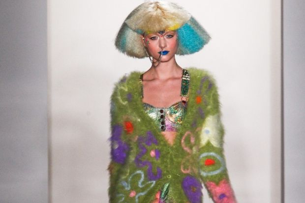 Jeremy Scott 2012 Kış defilesi...
